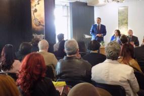 """Промоција на бугарското издание на книгата """"Јавна и културна дипломатија"""" (фотографија)"""