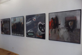 "Изложба ""Експресивната лирика и следи"" на Илириян Бекири и Башким Меджити (фотография)"