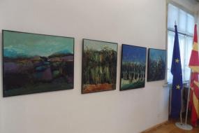 """Изложба """"Експресивната лирика и траги"""" на Илиријан Бекири и Башким Меџити (фотографија)"""