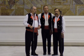 Прием и културна програма во хотел Балкан и Рускиот културно-информативен центар во Софија (фотографија)