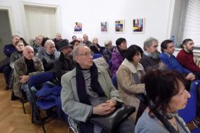 """Претставување на книгата """"Комита"""" од Владимир Плавевски (фотографија)"""
