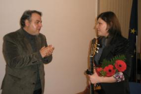 Мини-концерт на класична гитара на Македонка Ичева (снимка)