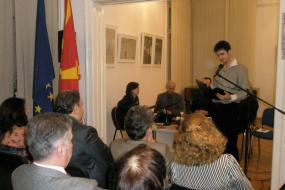 Книжевен портрет на поетот Јовица Тасевски - Етернијан (снимка)
