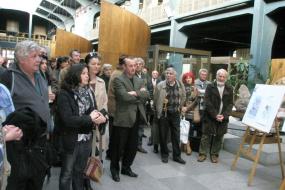 Изложба на познати македонски карикатуристи (снимка)