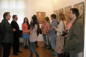 """Изложба """"ВАРИЈАЦИИ"""" на Иво Пецов (снимка)"""