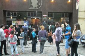 Литературна ноќ во Софија (снимка)