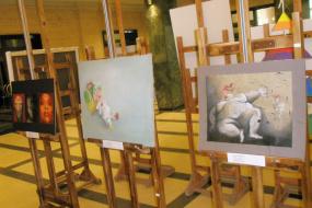 Културно-информативен центар на Р. Македонија и Националната художествена академија од Софија, групна изложба на студенти од Р. Македонија кои што студираат на НХА (фотографија)