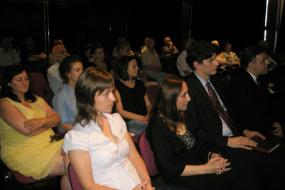 Промовиране на литаратурни преводи на македонски јазик (снимка)