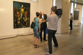 Национална галерија на Македонија, проект: Самостојна изложба на Владимир Георгиевски (фотографија)