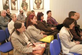 """ИД """"Макавеј"""", проект: Промоција на книгата """"За нас"""" од Филип Петровски (фотографија)"""