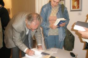 Друштво за издавачка дејност Макавеј – Скопје, проект: Книжевен портрет на Христо Крстевски (фотографија)