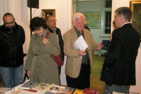 Сојуз на литературни преведувачи на Македонија,  проект: Изложба на дела од македонски автори со превод на странски јазици (фотографија)