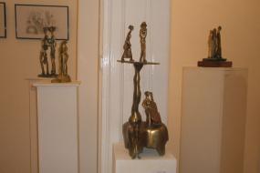 Национална галерија на Македонија, проект: Изложба на скулптури од Александар Ивановски-Карадаре (фотографија)