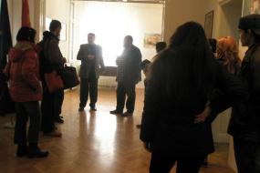 Ретроспективна изложба на тема стара архитектура от Кратово (снимка)