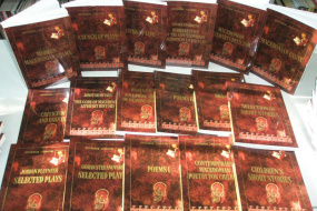"""""""130 тома македонска книжовност на Английски език"""" (снимка)"""