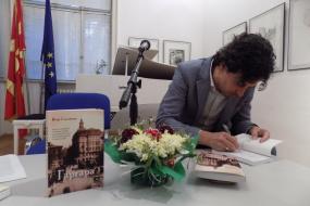 """Промоција на бугарското издание на романот """"Гаргара"""" од Игор Станојоски (фотографија)"""