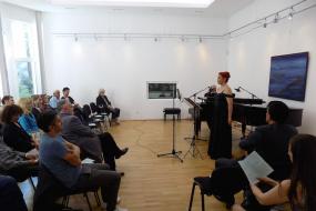 Концерт на Александра Коцевска - мецосопран и Глигор Гелебешев - пијано (фотографија)