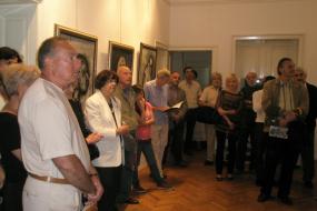 Самостојна изложба на Станко Ѓорѓиев (снимка)